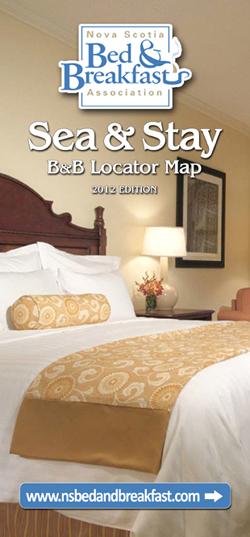 NSBBA Nova Scotia Bed And Breakfast Association