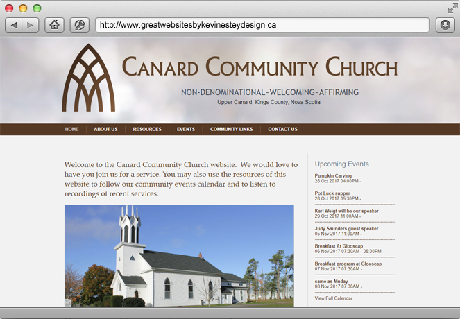 websample canardchurch